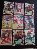 Football rc lot of 9