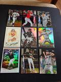 Baseball card lot of 9
