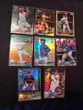 Baseball rc refractor lot of 8