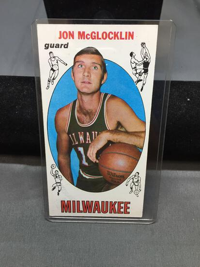 1969-70 Topps #14 JON MCGLOCKLIN Bucks Vintage Basketball Card