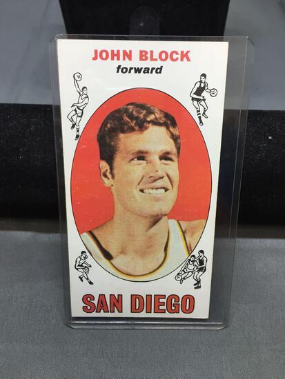 1969-70 Topps #9 JOHN BLOCK Clippers Vintage Basketball Card