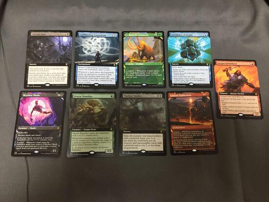 9 Card Lot of Magic the Gathering GOLD SYMBOL Rare Cards from Huge Collection