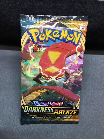 Sword & Shield Darkness Ablaze Pokemon Factory Sealed 10 Card Booster Pack