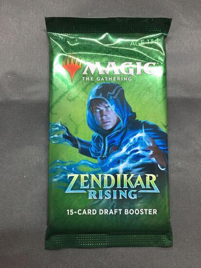 Factory Sealed Magic the Gathering ZENDIKAR RISING 10 Card Booster Pack