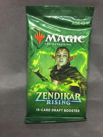 Factory Sealed Magic the Gathering ZENDIKAR RISING 10 Card Booster Pack