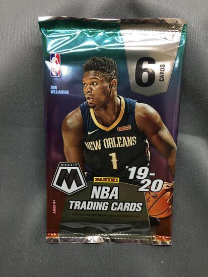 Factory Sealed 2019-20 Panini Mosaic Basketball 6 Card Pack