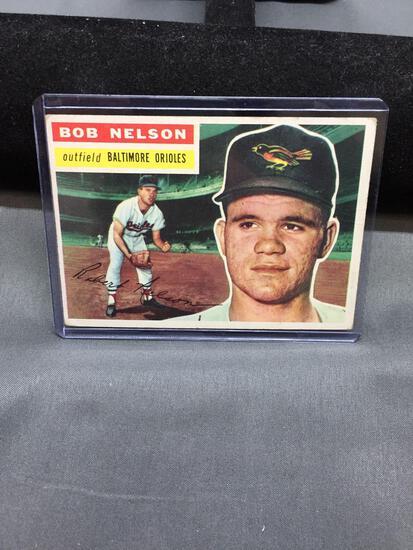 1956 Topps #169 BOB NELSON Orioles Vintage Baseball Card