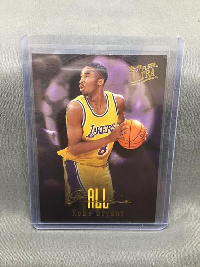 1996-97 Ultra All-Rookie KOBE BRYANT Lakers ROOKIE Basketball Card