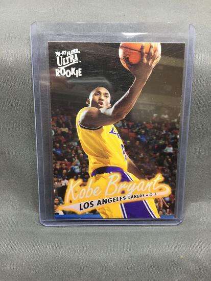 1996-97 Ultra #52 KOBE BRYANT Lakers ROOKIE Basketball Card