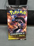 Champion's Path Pokemon Factory Sealed 10 Card Booster Pack from ETB Break