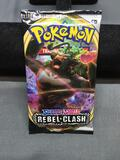 Pokemon Rebel Clash Factory Sealed 10 Card Booster Pack