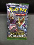 XY Fates Collide Factory Sealed 10 Card Pokemon Booster Pack