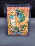 1999 Topps Pokemon Stage 3 DRAGONITE Trading Card - Rare