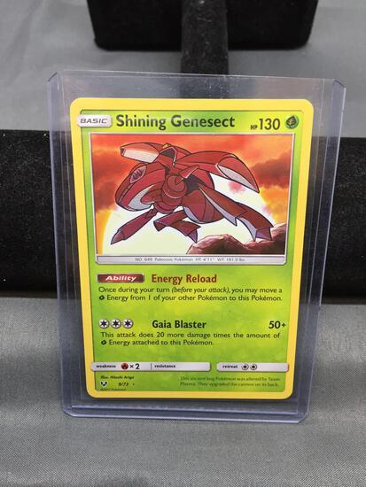 Pokemon SHINING GENESECT Holofoil Rare Trading Card 9/73