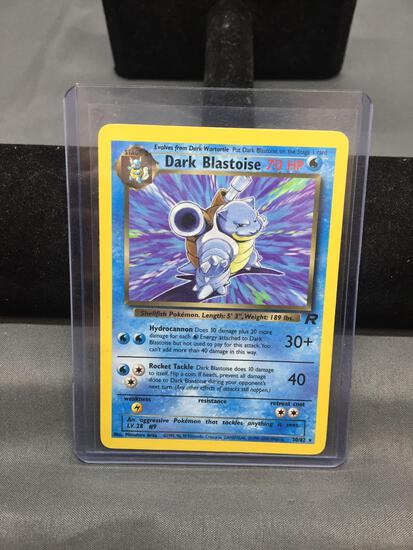 Pokemon Team Rocket DARK BLASTOISE Trading Card 20/82