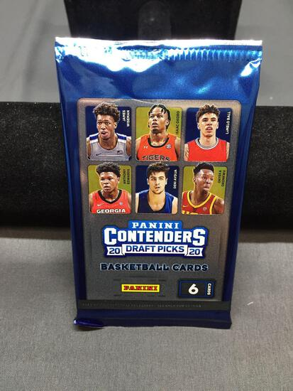 Factory Sealed 2020-21 Panini Contenders Draft Basketball 6 Card Pack - LaMelo Ball Rookie?