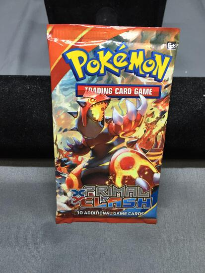 Factory Sealed Pokemon XY PRIMAL CLASH 10 Card Booster Pack