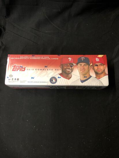 Factory Sealed 2010 Topps Baseball Complete Factory Sealed Set