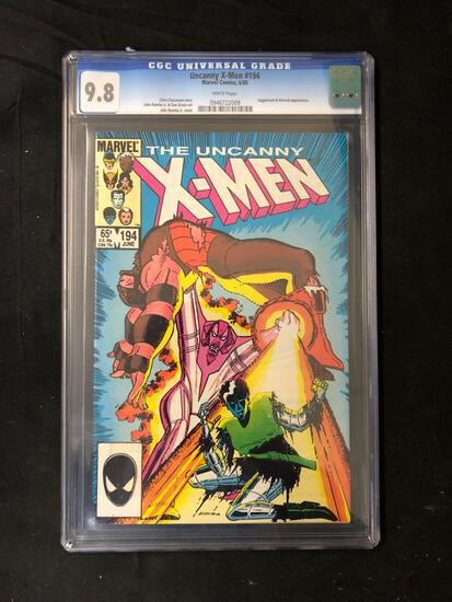 CGC Graded The Uncanny X-Men #194 Juggernaut & Nimrod Appearance Comic Book - 9.8
