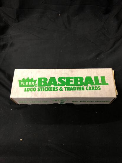 1988 Fleer Baseball Complete Factory Sealed Set from Huge Collection