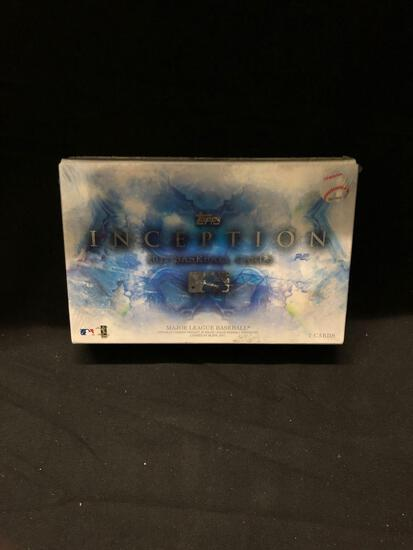 Factory Sealed 2017 Topps Inception Baseball Hobby Box