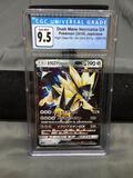 CGC Graded 2018 Pokemon Japanese High Class Ultra Shiny DUSK MANE NECROZMA GX Holofoil Rare Trading