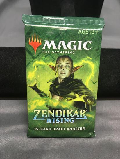 Factory Sealed MTG Magic The Gathering Zendikar Rising 15 Card Draft Booster Pack