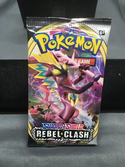 Factory Sealed Pokemon Sword & Shield Rebel Clash 10 Trading Card Booster Pack