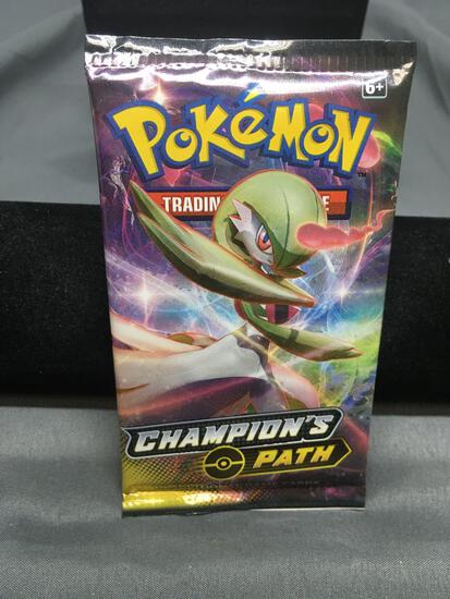 Pokemon Champion's Path Factory sealed 10 Card Booster Pack