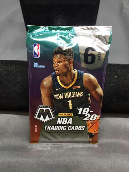 Factory Sealed 2019-20 Panini Mosaic Basketball 6 Card Pack - Zion Williamson Rookie?