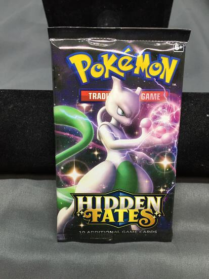 Factory Sealed Pokemon Hidden Fates 10 Card Booster Pack - HARD TO GET!