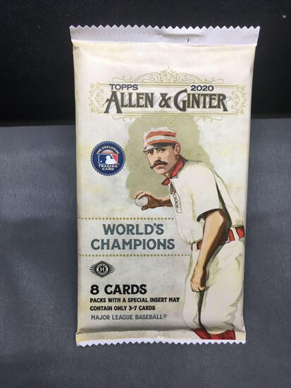 Factory Sealed 2020 Topps Allen & Ginter 8 Card Hobby Pack