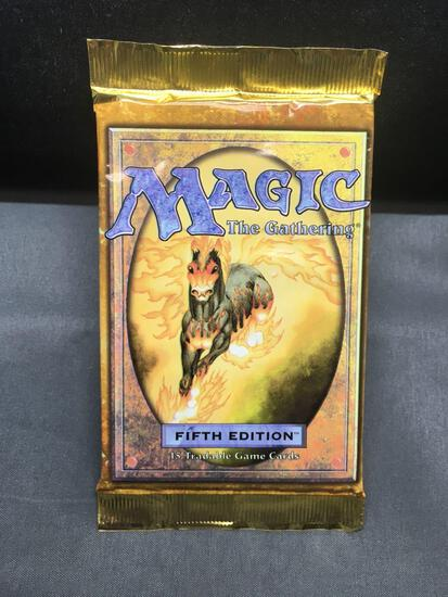 Factory Sealed Vintage Magic the Gathering 5th Edition 15 Card Booster Pack