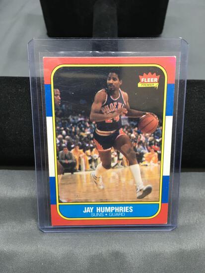 1986-87 Fleer #49 JAY HUMPHRIES Suns Vintage Basketball Card