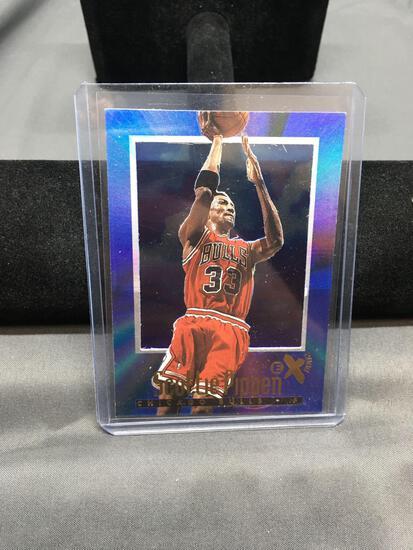 1996-97 E-X2000 #10 SCOTTIE PIPPEN Bulls Basketball Card - High End Set