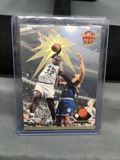1992-93 Ultra Rejector SHAQUILLE O'NEAL Magic ROOKIE Insert Basketball Card
