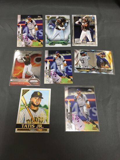 9 Card Lot of FERNANDO TATIS JR. San Diego Padres Baseball Cards from Huge Collection