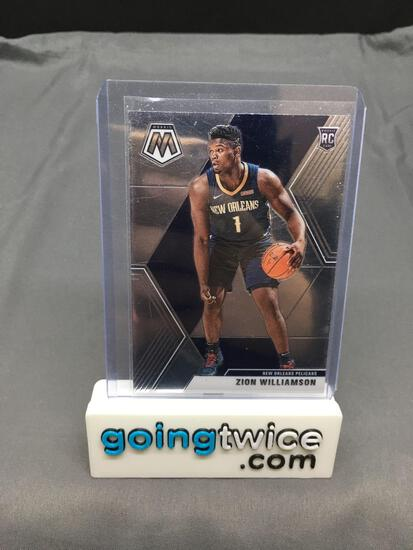 2019-20 Panini Mosaic #209 ZION WILLIAMSON Pelicans ROOKIE Basketball Card
