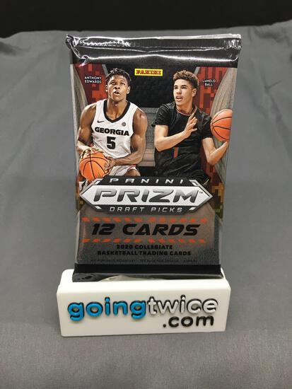 Factory Sealed 2020-21 Panini Prizm Draft Basketball 12 Card Pack - Lamelo Ball Rookie?