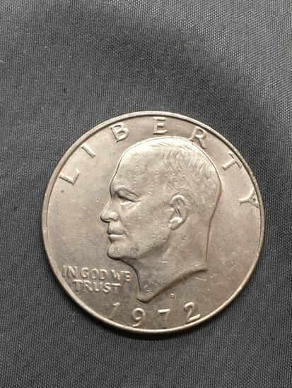 1972 United States Eisenhower Commemorative Dollar Coin from Huge Hoard