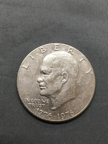 1976 United States Eisenhower Bicentennial Commemorative Dollar Coin from Huge Hoard