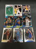 9 Card Lot of BASKETBALL ROOKIE CARDS all Newer Years with Stars and Prospects