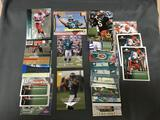 Huge 26 Card Lot of 1999 DONOVAN MCNABB Philadelphia Eagles ROOKIE Football Cards - HUGE BOOK VALUE