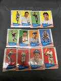 12 Card Lot of 1961 Fleer Vintage Baseball Cards from Estate Collection