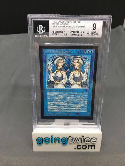 BGS Graded Magic the Gathering Beta Int'l Collectors Edition VESUVAN DOPPELGANGER Card - MINT 9