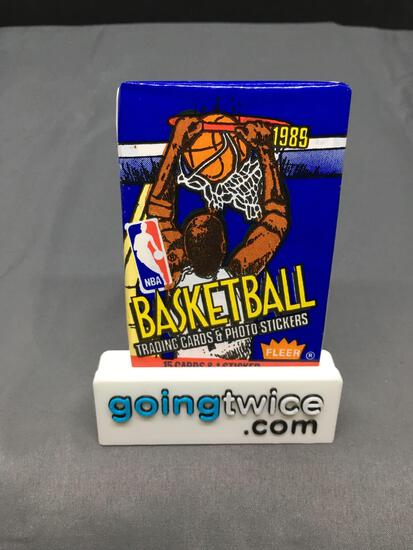 Factory Sealed 1989-90 Fleer Basketball 16 Card Wax Pack - Grading Worthy Michael Jordan?