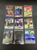 9 Card Lot of SERIAL NUMBERED Cards from Huge Collection with Stars and Rookie Cards - WOW