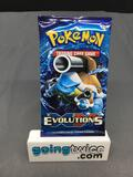 Factory Sealed Pokemon XY EVOLUTIONS 10 Card Booster Pack - Charizard Holofoil?
