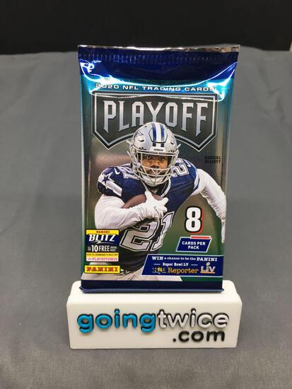 Factory Sealed 2020 Panini Playoff Football 8 Card Pack - Justin Herbert Rookie?