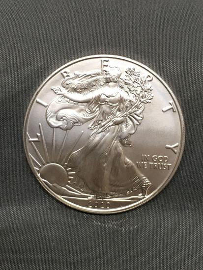 2020 United States 1 Ounce .999 Fine Silver AMERICAN EAGLE Silver Bullion Round Coin